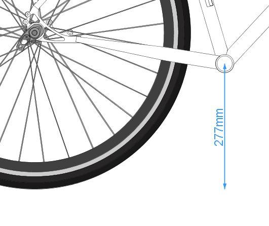 ¿Cómo es la Geometría de una Bicicleta?