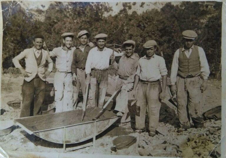 Mi abuelo y su cuadrilla