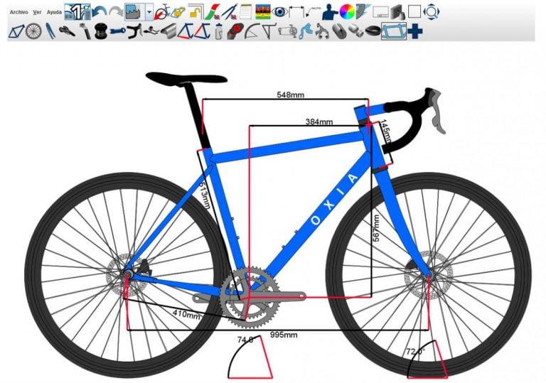 Diseño de la geometría de una bicicleta