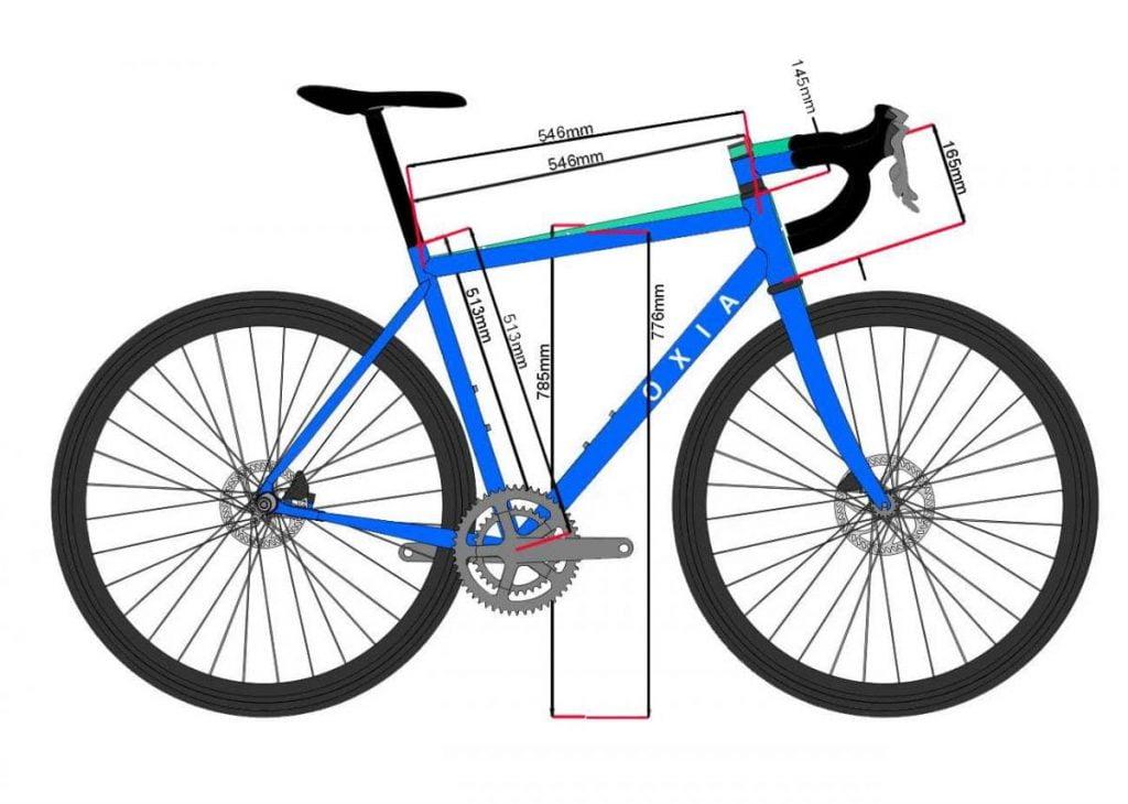 standover de una bicicleta