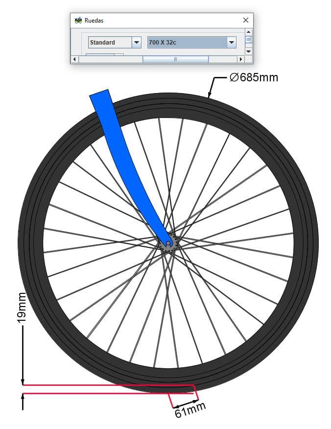 wheel flop con cubierta 700x32