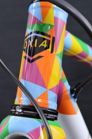 Bicicleta a medida con pintura personalizada