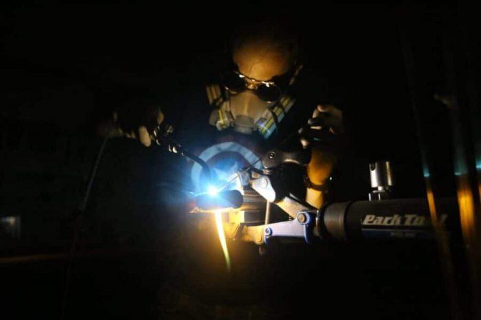 carlos soldando fillet brazing